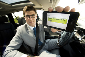 Dangers of distracted driving with text messaging