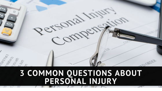 3 Questions About Personal Injury | The Franklin Law Firm, LLP