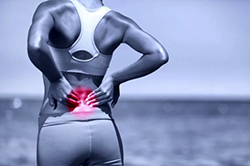 low back pain from injury
