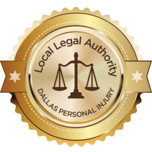 Award for best Dallas Personal Injury Attorney