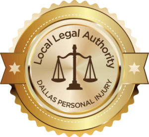 Award for the best Dallas personal injury attorney